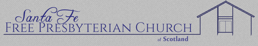 Free Presbyterian Church of Scotland header image